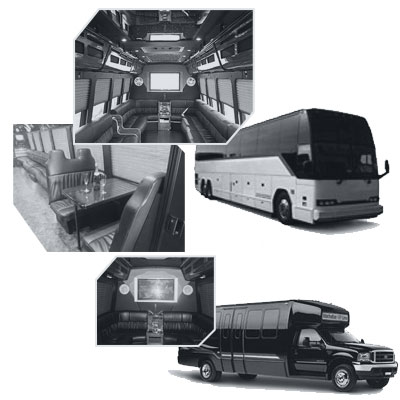 Party Bus rental and Limobus rental in Toronto, ON