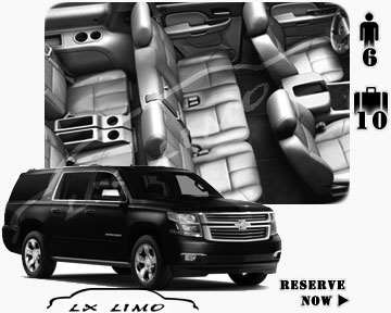 SUV Suburban for hire in Toronto