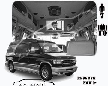 Luxury Van services | Luxury Van rental
